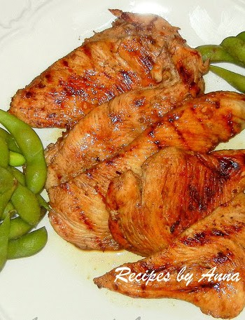 Grilled Chicken with Balsamic and Lemon by 2sistersrecipes.com