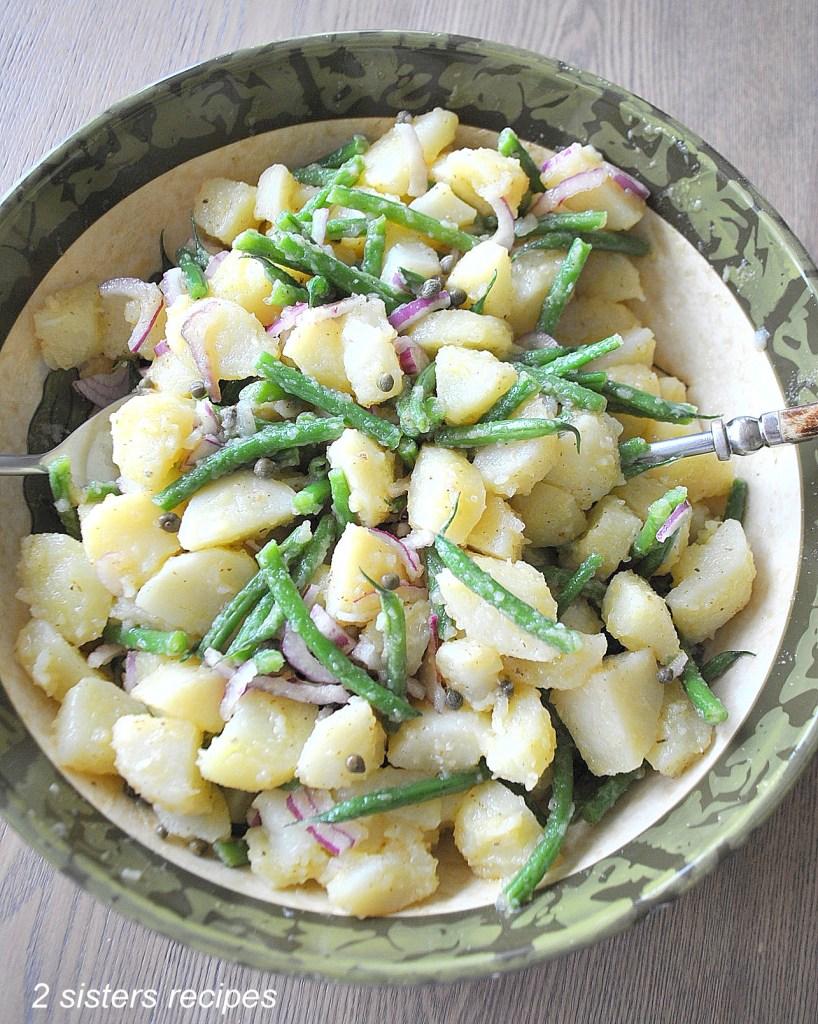 Potato and Green Bean Salad by 2sistersrecipes.com