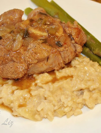 Veal Osso Bucco Over Mascarpone by 2sistersrecipes.com