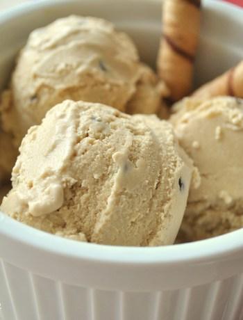 Tiramisu Ice Cream with Chocolate Chips https://2sistersrecipes.com