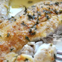 Baked Flounder Filet Oreganata - Lightened!