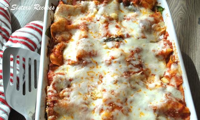 Oven-Roasted Vegetable Lasagna - Lightened!