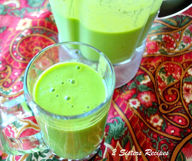 The Green Drink-Spinach Smoothie