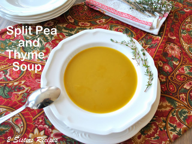 Split Pea and Thyme Soup