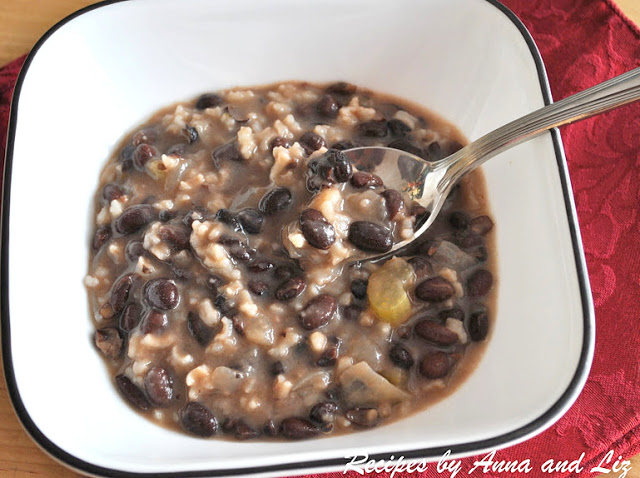 Black Bean and Rice Soup