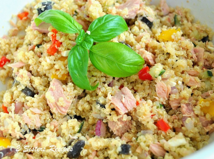 Quinoa Tuna Salad