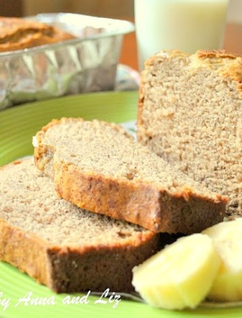 The Ultimate Banana Bread, by 2sistersrecipes.com