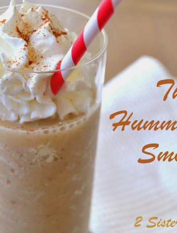 The Hummingbird Smoothie by 2sistersrecipes.com