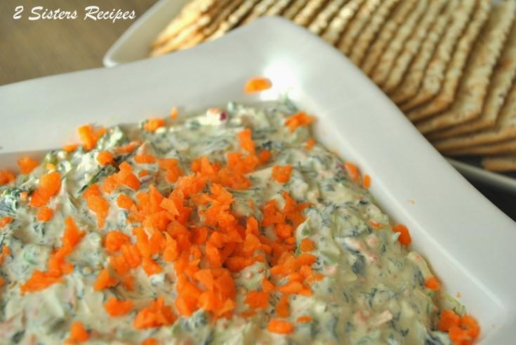 Carrot and Spinach Dip