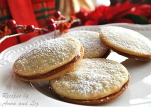 Dulce de Leche Butter Cookies by 2sistersrecipes.com