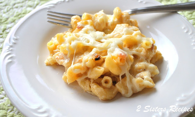 Macaroni and Cheese with Pancetta and Caramelized Onions