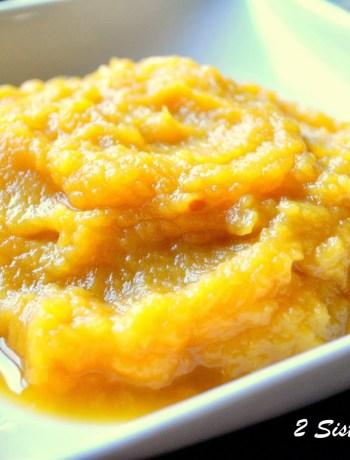 How to Make Fresh Pumpkin Puree by 2sistersrecipes.com