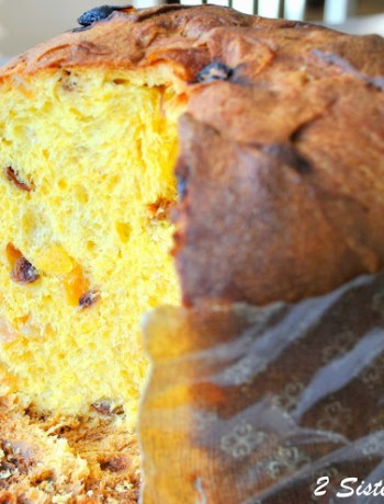 Panettone, The Italian Christmas Cake by 2sistersrecipes.com