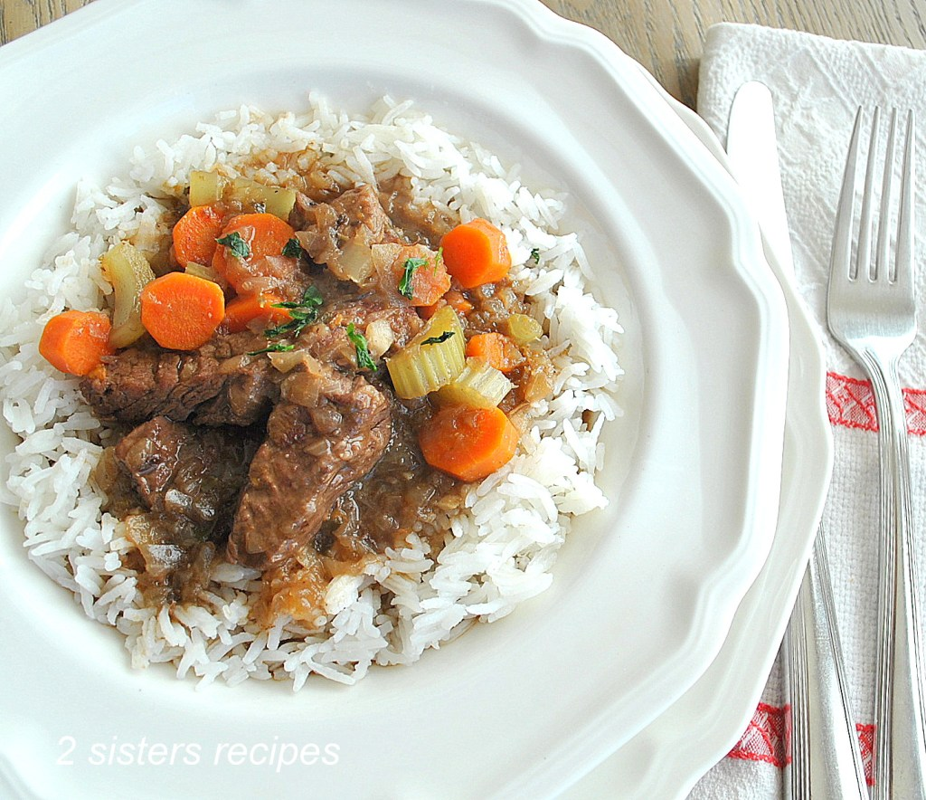 Beef Stew in Half the Time! by 2sistersrecipes.com