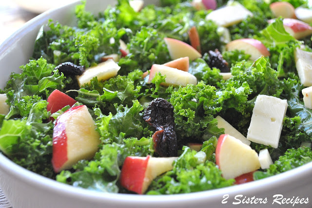 Spring Kale Salad for Thanksgiving!