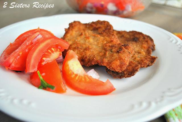 Italian Tomato Salad by 2sistersrecipes.com