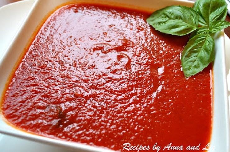 Moms' Quick Marinara Sauce by 2sistersrecipes.com