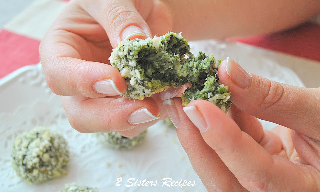 Spinach and Kale Bites