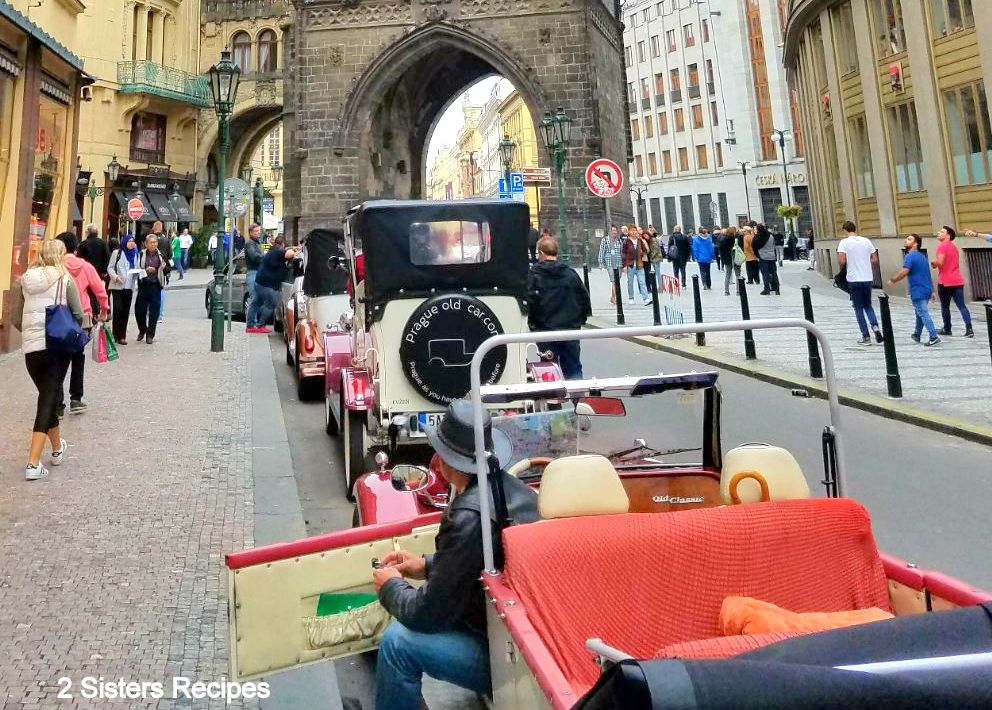 Antique car tours in Prague by 2sistersrecipes.com