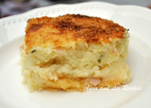 Mom's Best Mashed Potato Pie by 2sistersrecipes.com