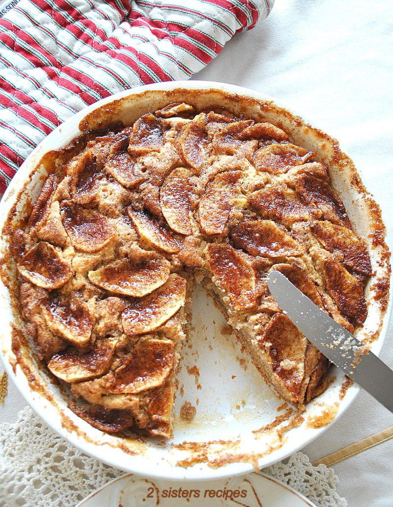 Cinnamon Apple Coffee Cake by 2sistersrecipes.com