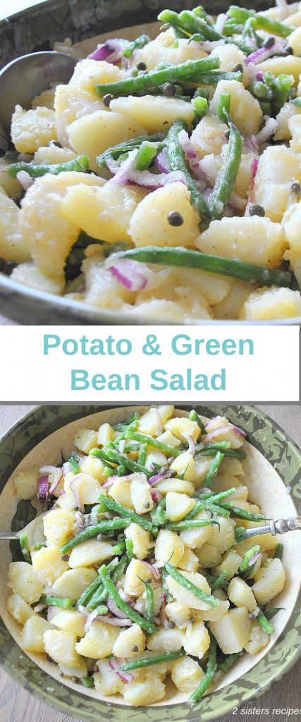Potato and Green Bean Salad by 2sistersrecipes.com