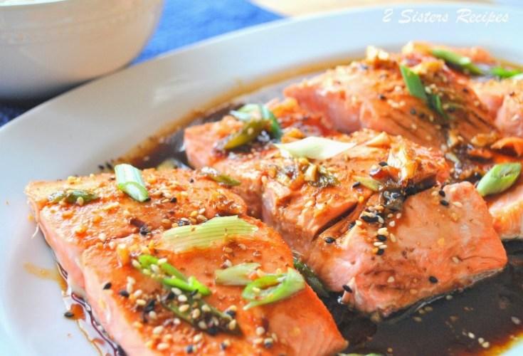 Pan Seared Salmon with Teriyaki Ginger Sauce