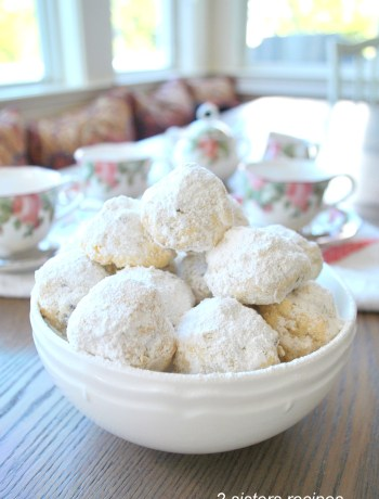 Coconut Cherry Shortbread Cookies by 2sistersrecipes.com