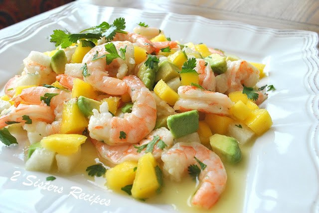 Zesty Lemon Shrimp and Mango Salad