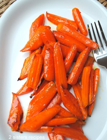 Maple Glazed Carrots by 2sistersrecipes.com
