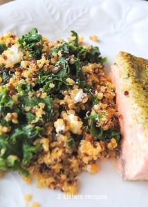 Kale Quinoa Salad by 2sistersrecipes.com
