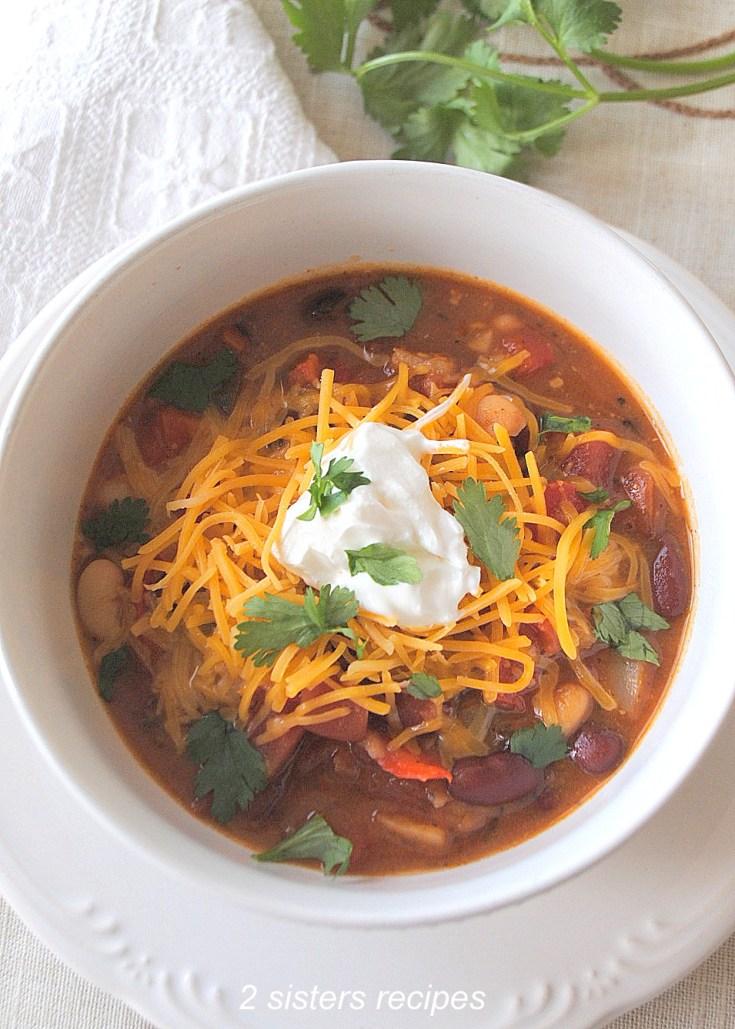 Easy Vegetarian Chili
