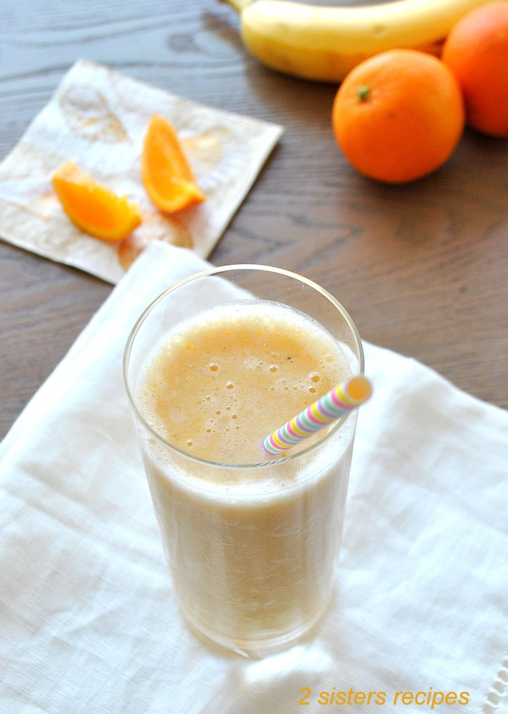 Healthier Orange Creamsicle Smoothie