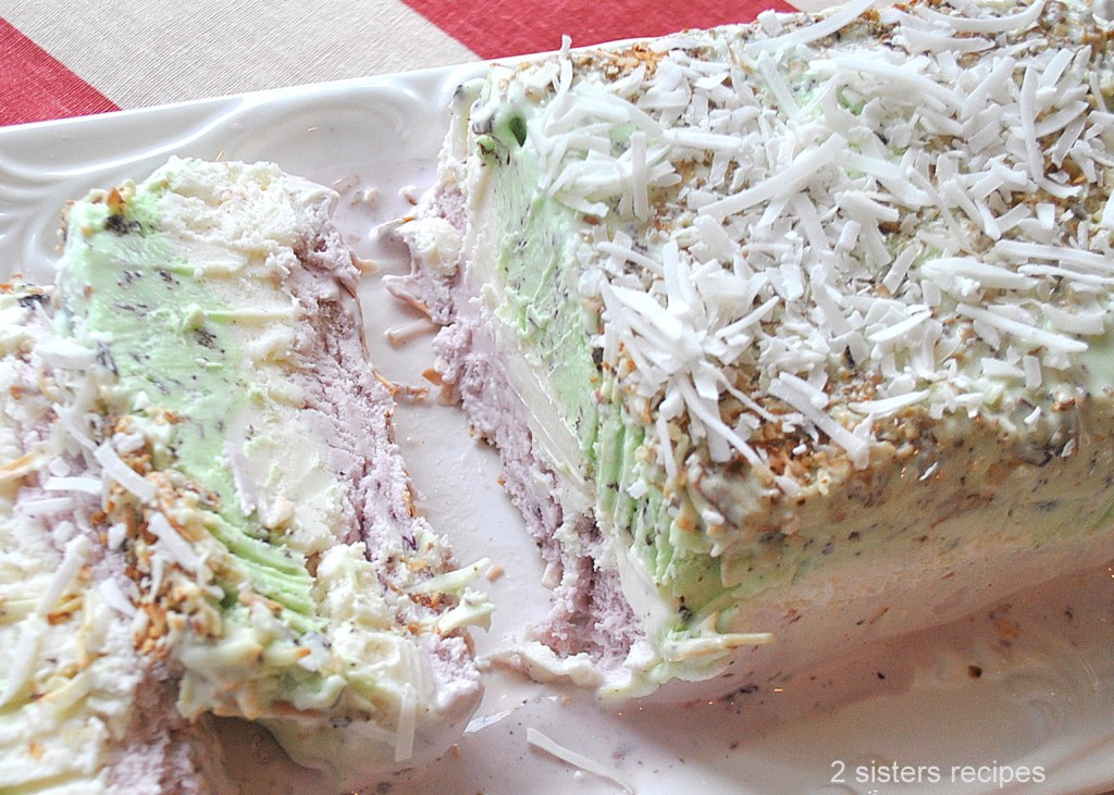 Easy Spumoni Ice Cream by 2sistersrecipes.com