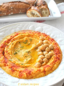 Chickpea Stew Hummus by 2sistersrecipes.com