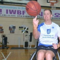 Wheelchair Volleyball Mesh Patio Chairs Invictus Games Brendan Hardman Gears Up To Compete In Basketball Sitting