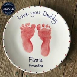 Footprint Plate for Daddy