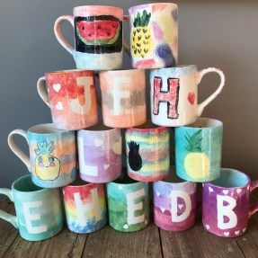 11 year old birthday party mugs