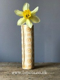 flower print vase