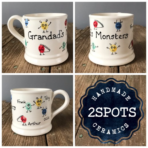 Grandad's Monster Mug