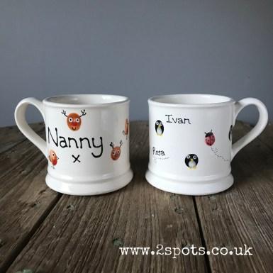Christmas Mug for Nanny