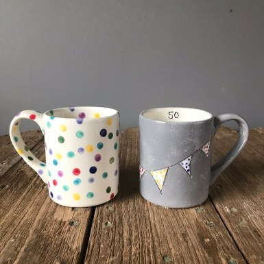 More Birthday Party Mugs