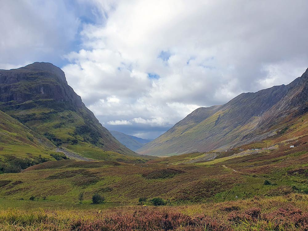 Bidean bam Bian, The Three Sisters in Glencoe, Scotland