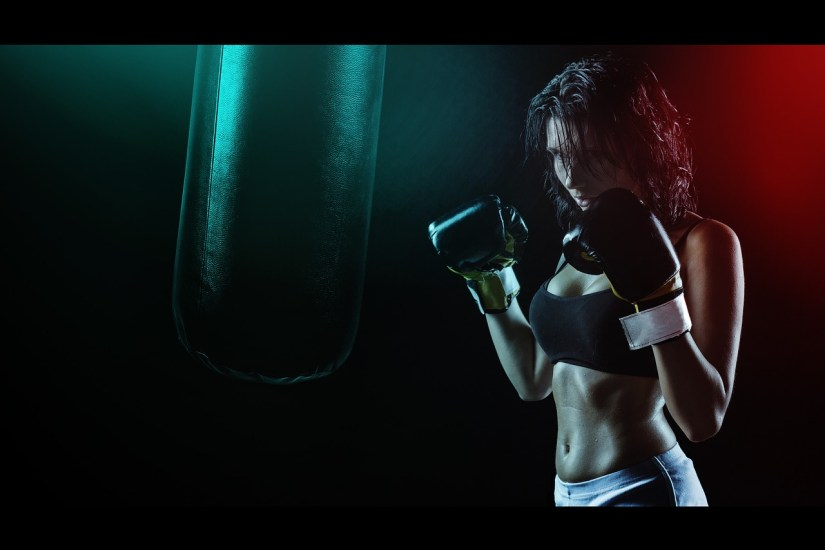 boxing girl_xusenru