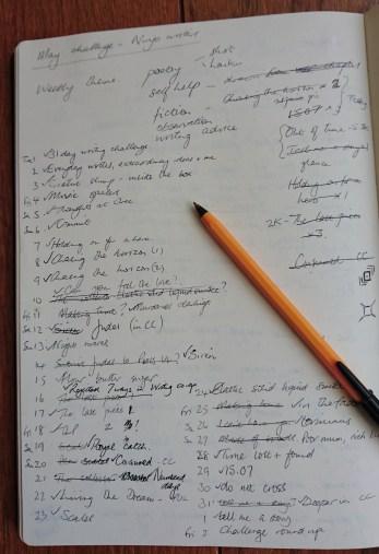 May18 blog challenge notes