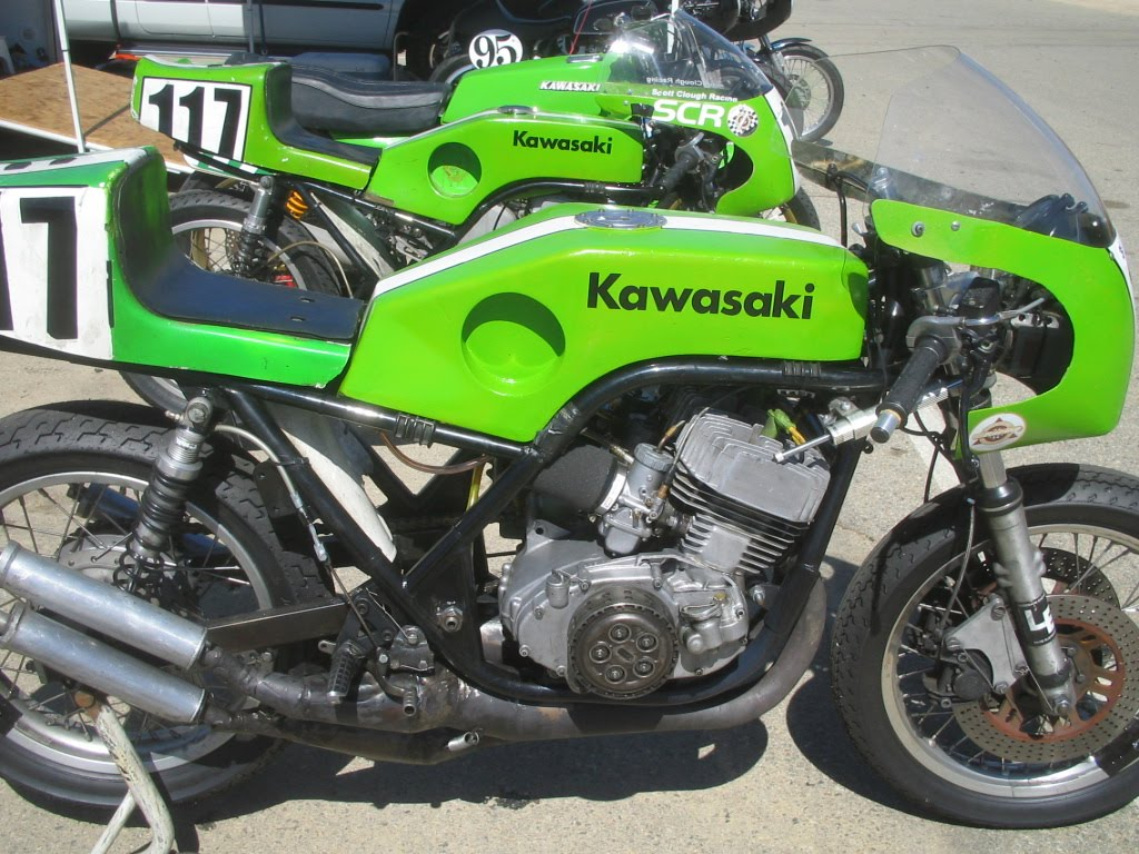 Some Radical Kawasaki Racebikes H2r And Friends
