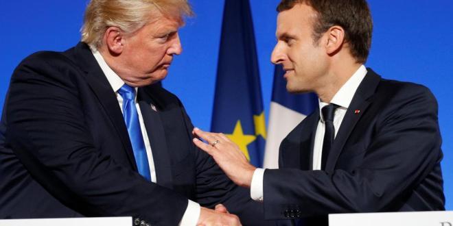 Macron et trump