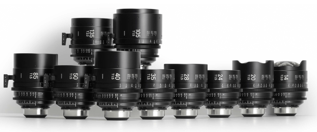 SIGMA Full Frame Cine Art Primes with /i Data | Film and Digital Times