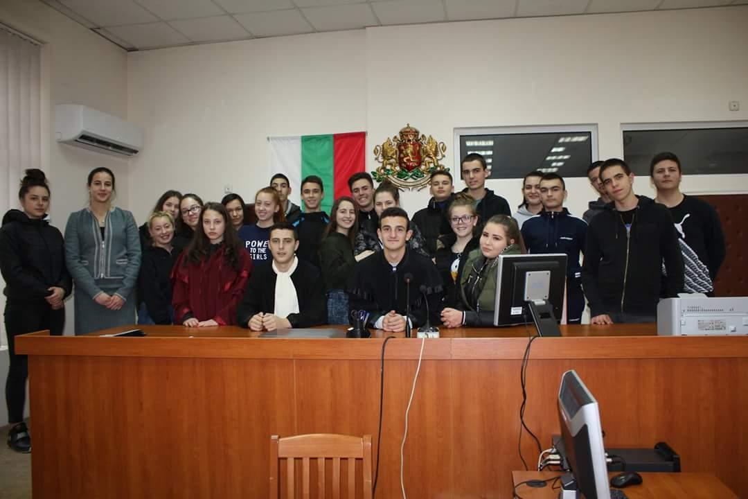 Стартира програма за формиране на правна култура сред ученици на Второ СУ Търговище