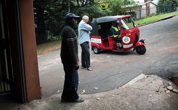 Tuktuk arrival